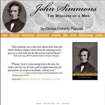 john simmons biography