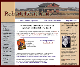 website of roberta isleib